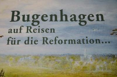 Fotoalbum Unsere Ausstellung im Mai zu Johannes Bugenhagen - der Reformator aus Pommern