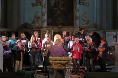 Fotoalbum Gospelworkshop unter Anleitung von der Leipzigerin Eva von der Heide