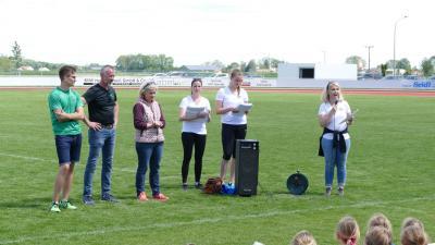 Fotoalbum 1.Sportfest -Schule und Verein Fotos Siegerehrung 2019