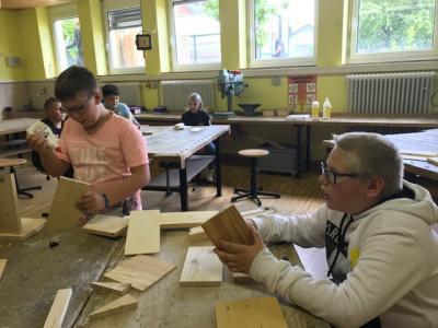 Fotoalbum Tag der Offenen Tür an der Mittelschule Altenburgblick