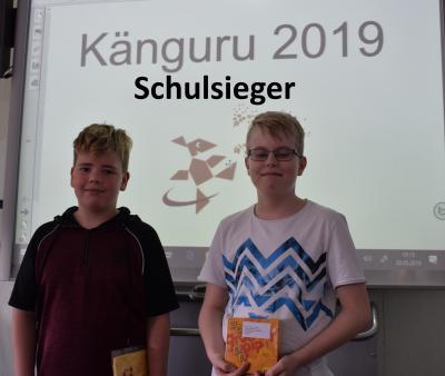 Fotoalbum Sieger und Teilnehmer des Känguru-Wettbewerbs