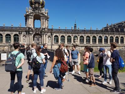 Fotoalbum Klassenfahrt der 11FB nach Dresden