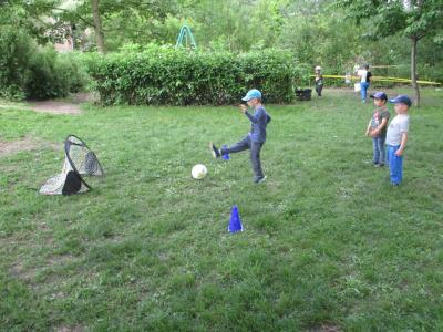 Fotoalbum Fußballtraining im Kindergarten