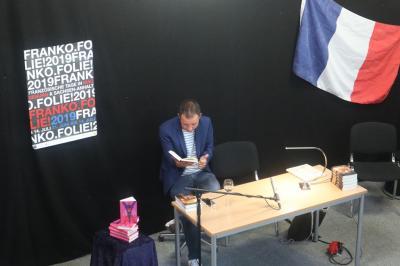"""Fotoalbum Alexander Oetker liest aus Romy Straßenburgs Roman """"Adieu Liberté – Wie mein Frankreich verschwand"""""""