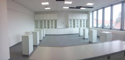 Fotoalbum Neues vom Bau: Die Fachräume sind schon fast fertig!
