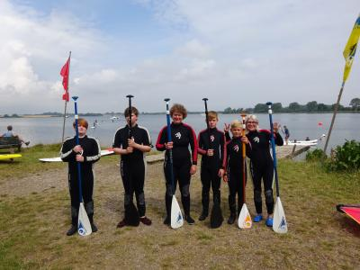 Fotoalbum Stand Up Paddling in Maasholm - Ferienspaß 19