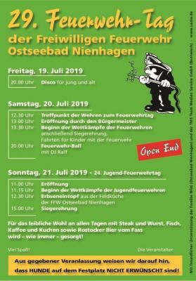 Foto des Albums: Feuerwehrfest 2019 (21.07.2019)