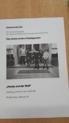 Fotoalbum Auftritt der Theatergruppe beim Harzgeröder Sommermärchen