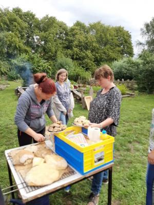 Fotoalbum Polthier-Schüler im Archäologischen Park