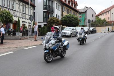 Fotoalbum HR4-Radtour - Mittagsstopp in Flieden