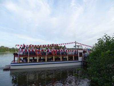 Fotoalbum Bootskorso zum 1. Kyritzer Seefest