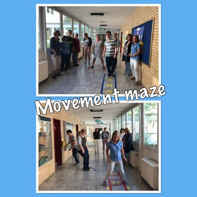 Fotoalbum Movement Maze