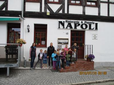 Fotoalbum Besuch in der Pizzeria