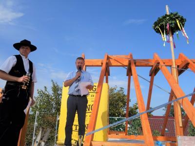 Fotoalbum Richtfest für neuen Feuerwehrhof in Dissen
