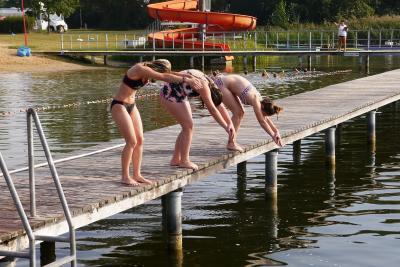 Fotoalbum Schwimmunterricht am Kritzower See