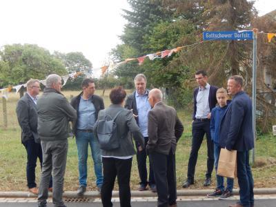 Fotoalbum Straßeneinweihung in Groß Gottschow