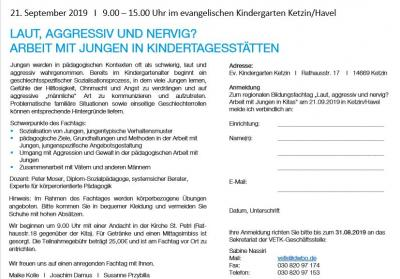 Fotoalbum Bildungsfachtag Evangelischer Kitas