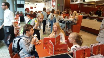 Fotoalbum Besuch aus Schweden an unserer Schule