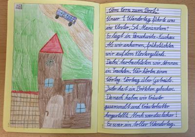 Fotoalbum Wandertag der Klasse 3a und 3b