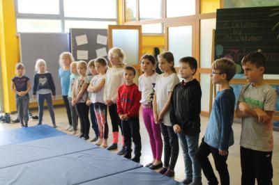 Fotoalbum Zirkusprojekt - Eindrücke von der Trainingswoche - Teil 1