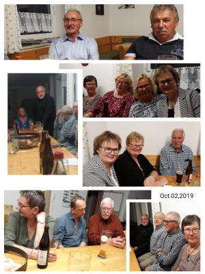 Fotoalbum Abendessen für Aktive Helfer 2019