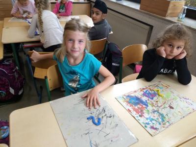 Foto des Albums: Zahlen in der Klasse 1c (11.09.2019)