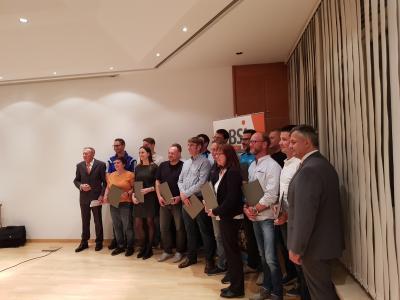 Fotoalbum TV- Wallersdorf  bei Ehrungen der Bayerischen Sportjugend stark vertreten
