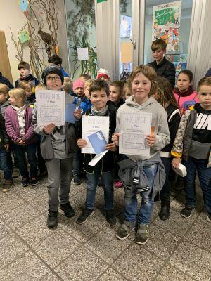 Fotoalbum Sieger bei der Mathematikolympiade