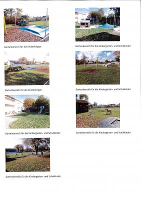 Fotoalbum Gartenbereich