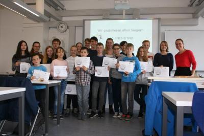Fotoalbum Schulolympiade Mathematik 2019
