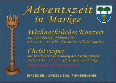 Fotoalbum Weihnachten Kirche Markee