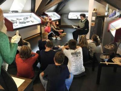 Fotoalbum Exkursion 7/8 ins Waffenmuseum nach Suhl