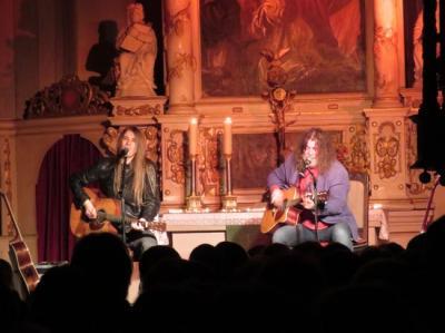 Fotoalbum Tino Standhaft & Norman Daßler - live in concert - in der vollen Bad Schmiedeberger Stadtkirche