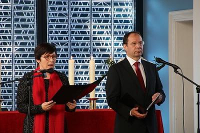 Fotoalbum Festgottesdienst am Reformationstag mit der Einführung von Anke Werlitz als Lektorin und Stefan Brandt als Lektor