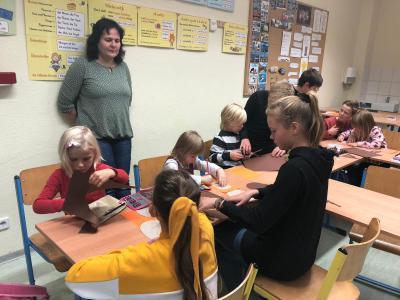 Fotoalbum Herbstprojekt mit den Vorschulkindern