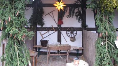 "Fotoalbum ""Lebendige Krippe"" - Adventszeit im alten Pfarrhof"