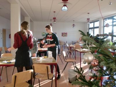 Fotoalbum Weihnachtsprojekttag in Massen