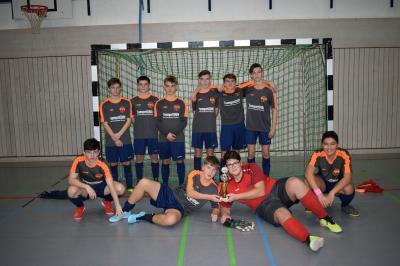 Fotoalbum Hallenkreismeisterschaft B-Junioren Teil 2
