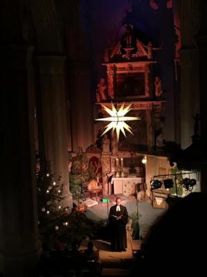 Fotoalbum Christvesper mit Krippenspiel am heiligen Abend