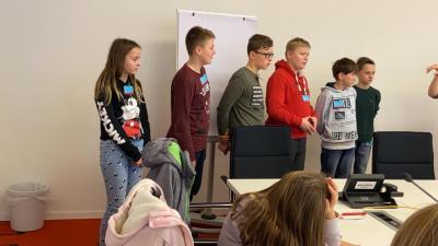 Fotoalbum Wandertag Klasse 6: Landtag und Biosphäre