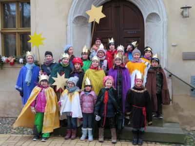 Fotoalbum Die Sternsinger sind wieder unterwegs in Bad Schmiedeberg