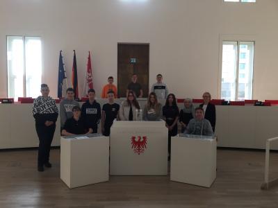 Fotoalbum Exkursion Landtag Brandenburg