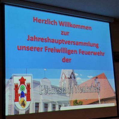 Fotoalbum FFw Jahreshauptversammlung 2020