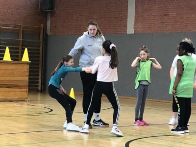 Fotoalbum Handball: Kooperation mit dem Elmshorner Handball-Team