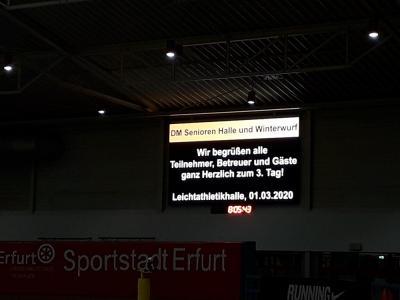 Fotoalbum DM Senioren Erfurt