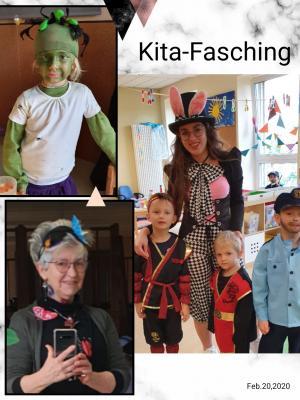 Fotoalbum Besuch zum Kindergarten-Fasching