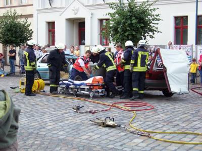 Foto vom Album: Feuerwehrübung 2008 in Ziesar