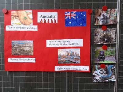 Fotoalbum Englisch Klasse 4a