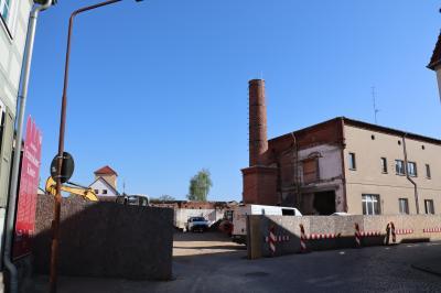 Fotoalbum Bauarbeiten im Klosterviertel
