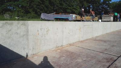 Foto des Albums: Renovierungsarbeiten des Freizeitklubs im Schwimmbad (10.06.2020)